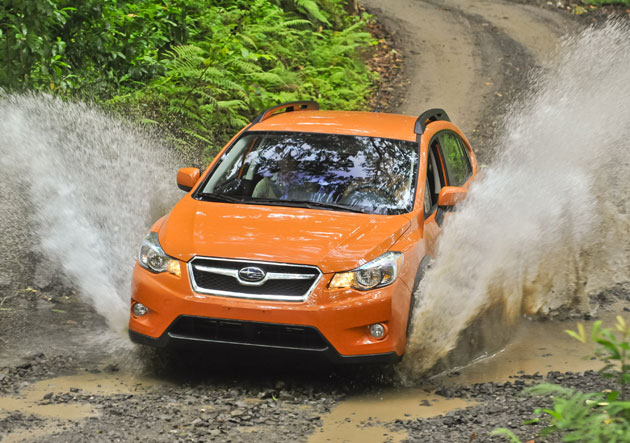 2013 Subaru XV Crosstrek - Action
