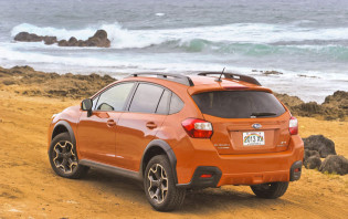 2012 Subaru XV Crosstrek - Back