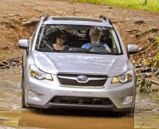 2012 Subaru XV Crosstrek - Front