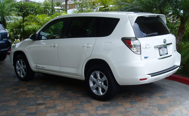 2012 Toyota RAV4 - Back
