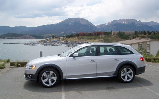 2013 Audi Allroad - Side