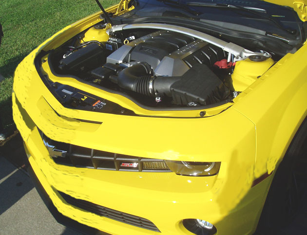 2013 Chevy Camaro Engine