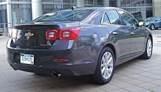 2013 Chevrolet Malibu - Back