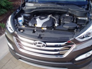 2013 Hyundai Santa Fe - Engine Compartment