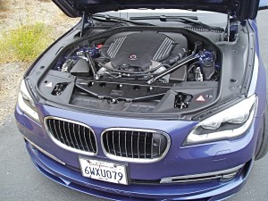 2013 BMW Alpina - Engine Compartment