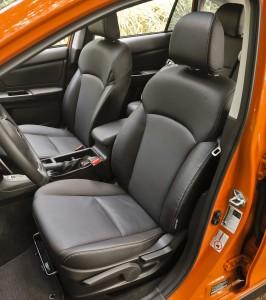 2013 Subaru XV_Crosstrek - Seats