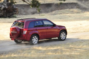 Suzuki Grand Vitara - Action shot