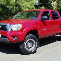 2012 Toyota Tacoma front viewnbsp