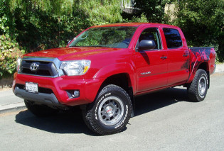 2012 Toyota Tacoma - front view