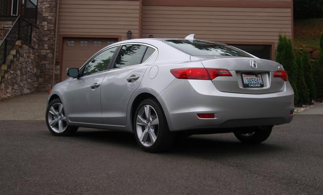 2013 Acura ILX - Rear view