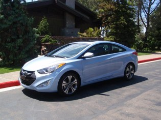 2013 Hyundai Elantra- Side View