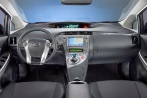2012 Toyota Prius dash