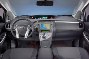2012 Toyota Prius plug-in interior