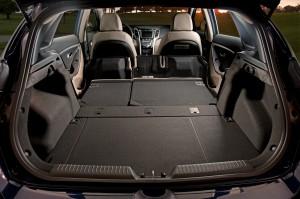 2013 Hyundai Elantra GT - Trunk space