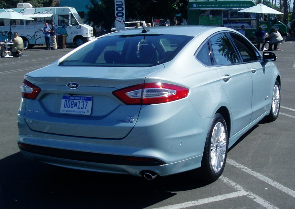 2013 Ford Fusion - Rear view