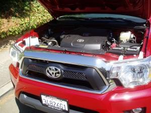 2012 Toyota Tacoma- Engine Compartment