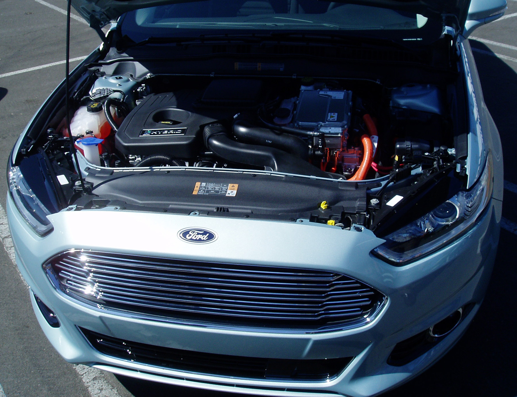 2017 Ford Fusion Engine Compartment