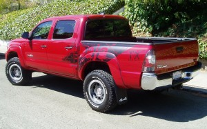 2012 Toyota Tacoma = Side View