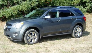 2013 Chevrolet Equinox - Sideview