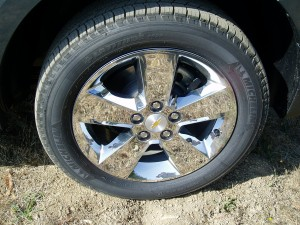 2013 Chevrolet Equinox - wheels