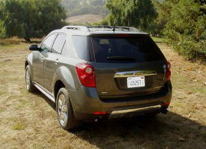 2013 Chevrolet Equinox - rearview