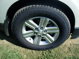 2013 Chevrolet Traverse - Wheels