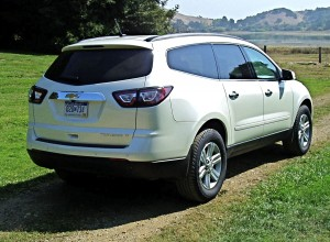 2013 Chevrolet Traverse - rear view