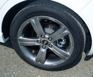 2013 Chevy Sonic - wheels