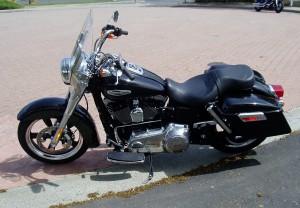 2012 Harley Davidson FLD - Side View