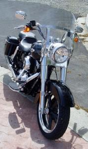 2012 Harley Davidson FLD - front angle