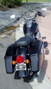 2012 Harley Davidson FLD - Rear view