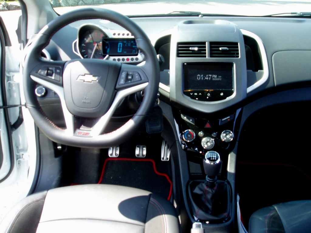 2013 Chevy Sonic - Dashboard