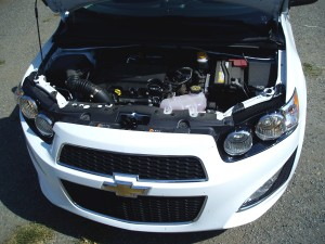 2013 Chevy Sonic - Engine Compartment