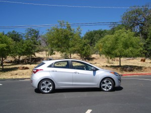 2013 Hyundai Elantra GT - Side View