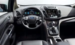 2013 Ford C-Max - dashboard