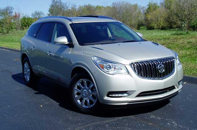 Test Drive 2013 Buick Enclavenbsp