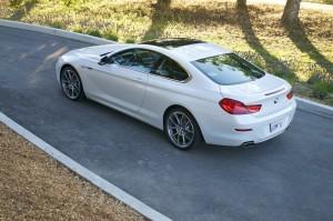 2013 BMW 650i - road shot