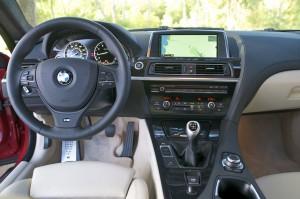 2013 BMW 650i - dashboard