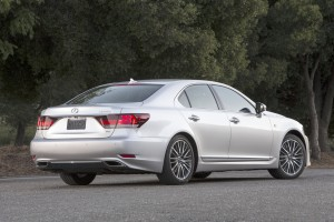 2013 Lexus LS - side view