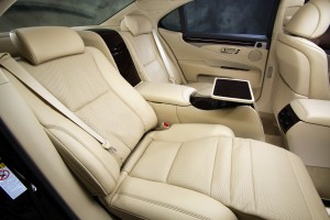 2013 Lexus LS - rear seats