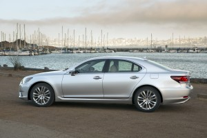 2013 Lexus LS- side view