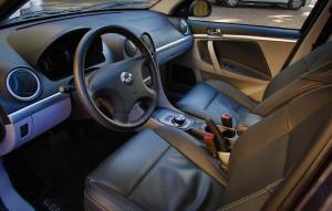 Coda Electric Car- Interior