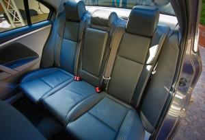 Coda Electric Car - Backseats
