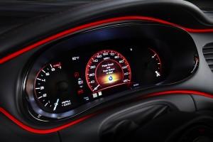 2013 Dodge Dart Rallye - Instrument cluster
