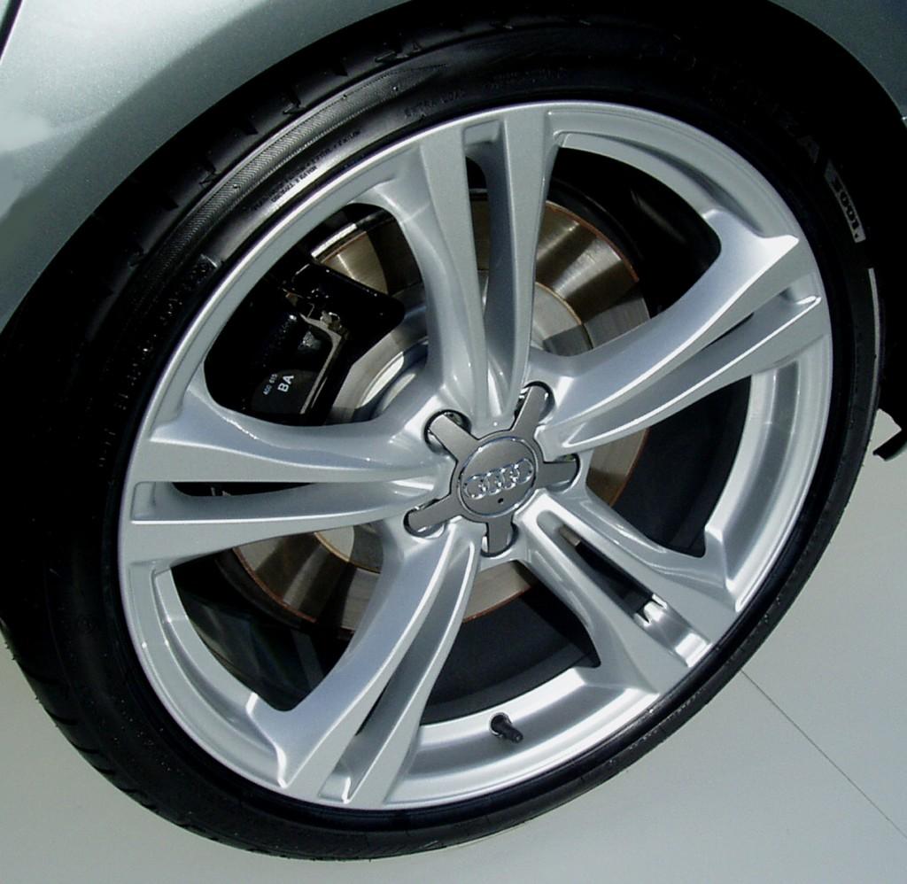 2013 Audi S6 - wheels