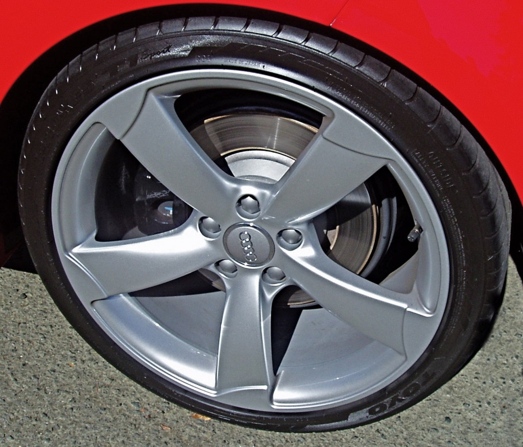 2012 Audi TT - Wheels