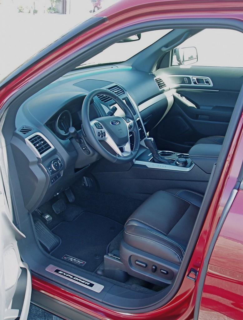 2013 Ford Explorer - interior