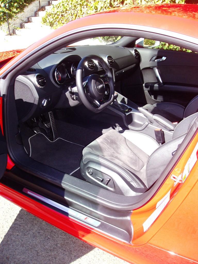2012 Audi TT  - interior