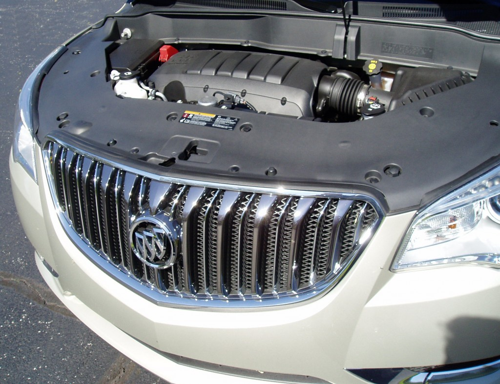 2013 Buick Enclave - engine compartment