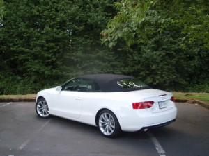 2013 Audi A5 Cabriolet - rear view